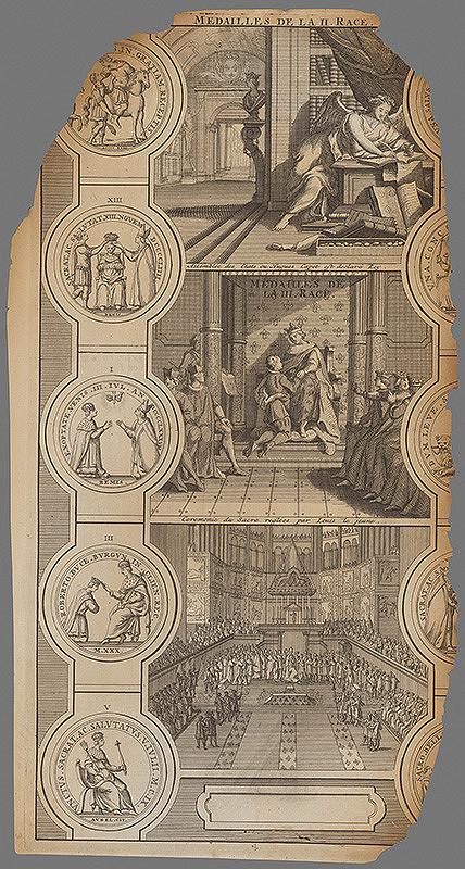 Stredoeurópsky grafik z 1. polovice 18. storočia – Dejinné vysvetlenie medailí