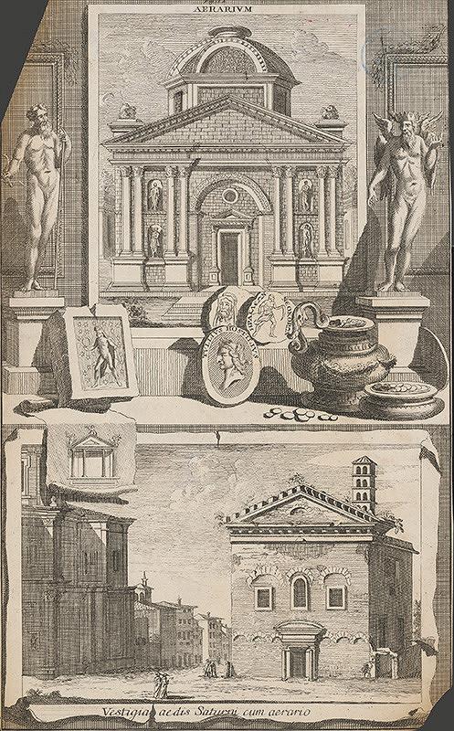 Stredoeurópsky grafik z 18. storočia – Aerarium a Vestigia