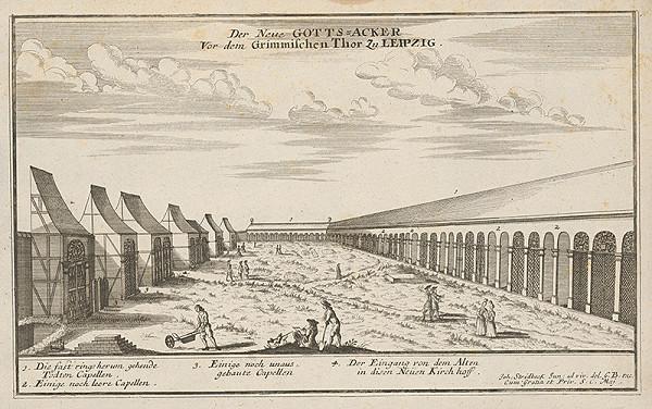 Johann Stridbeck ml. - Nový cintorín v Lipsku