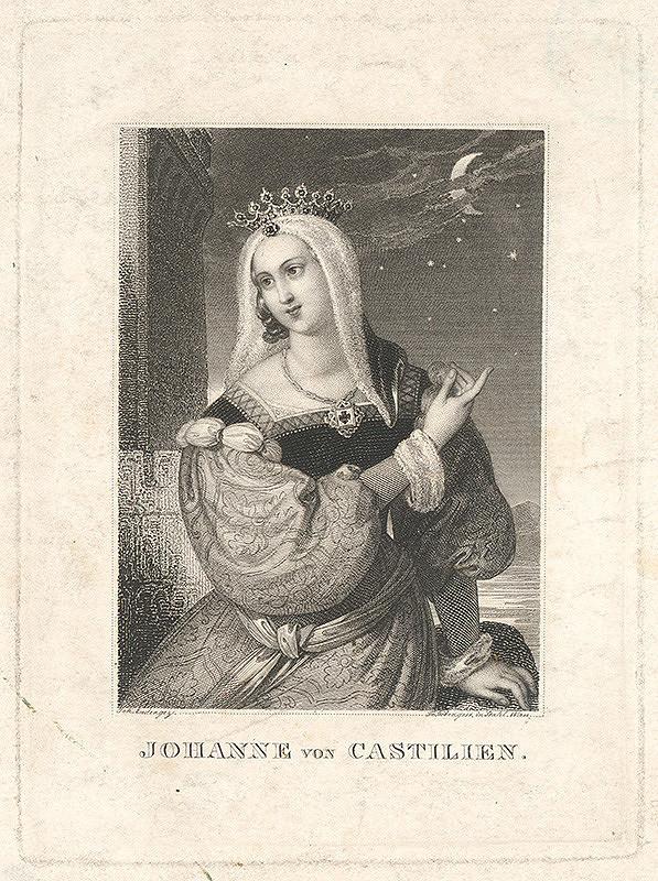 Frantz Höber, Johann Nepomuk Ender - Jana z Castilie