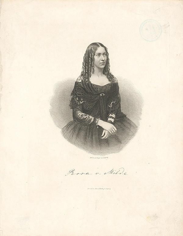 August Weger – Rosa v.Milde