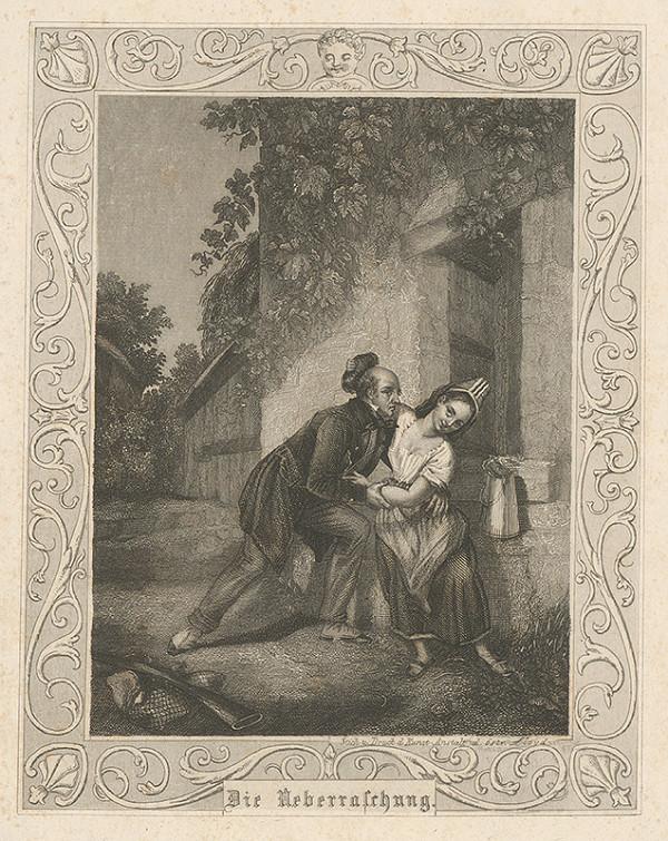 Stredoeurópsky grafik z 19. storočia - Prekvapenie