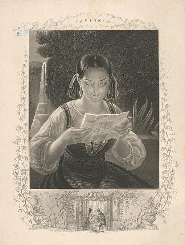 Albert Henry Payne, Thomas Hildebrand – Čítajúce dievča