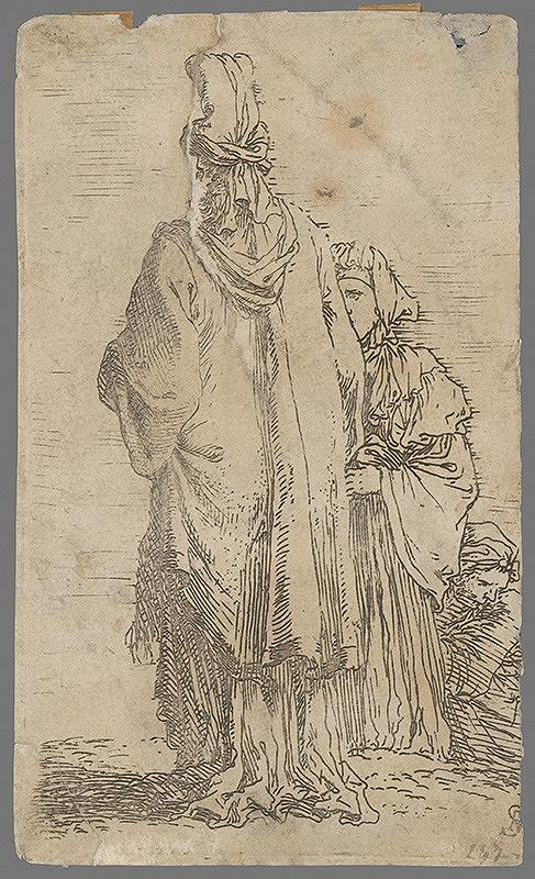 Stredoeurópsky grafik z konca 16. a začiatku 17. storočia – Tri ženy