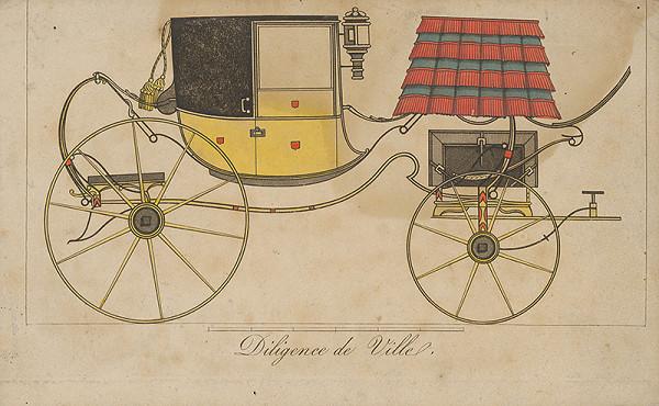Stredoeurópsky grafik z 19. storočia – Mestský dopravník