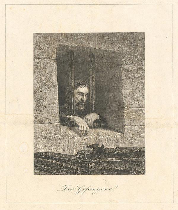 Stredoeurópsky grafik z 19. storočia – Zajatec