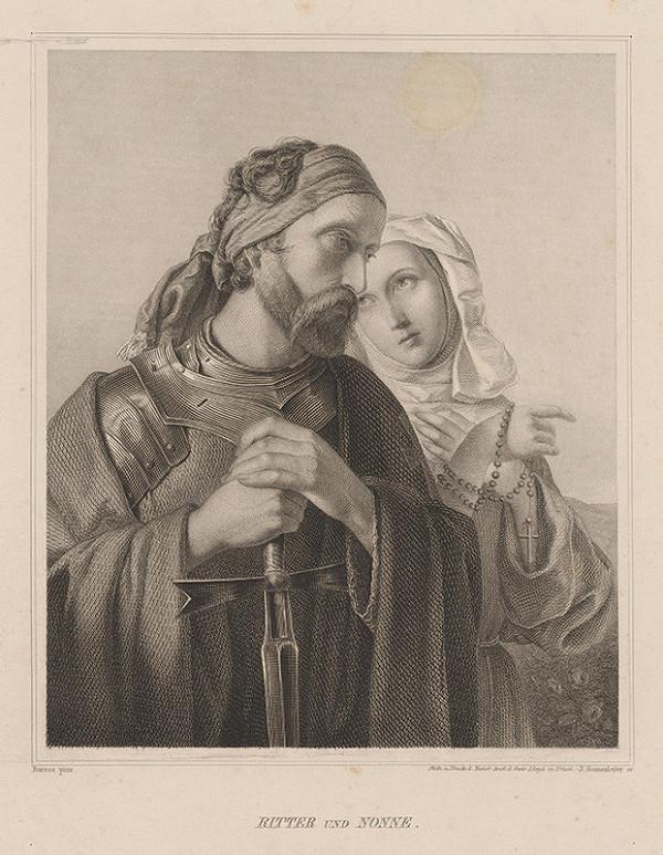 Johannes Sonnenleiter, József Borsos - Rytier a mníška