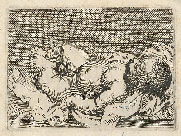 Stredoeurópsky grafik zo 17. storočia – Dieťa