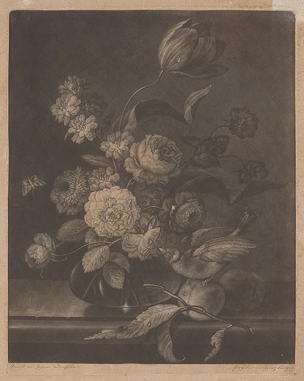 Ignaz Laminger, Johann Baptist Drechsler - Zátišie s kvetmi