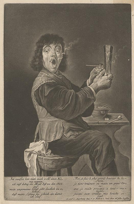 Johann Jacob Haid - Pijan