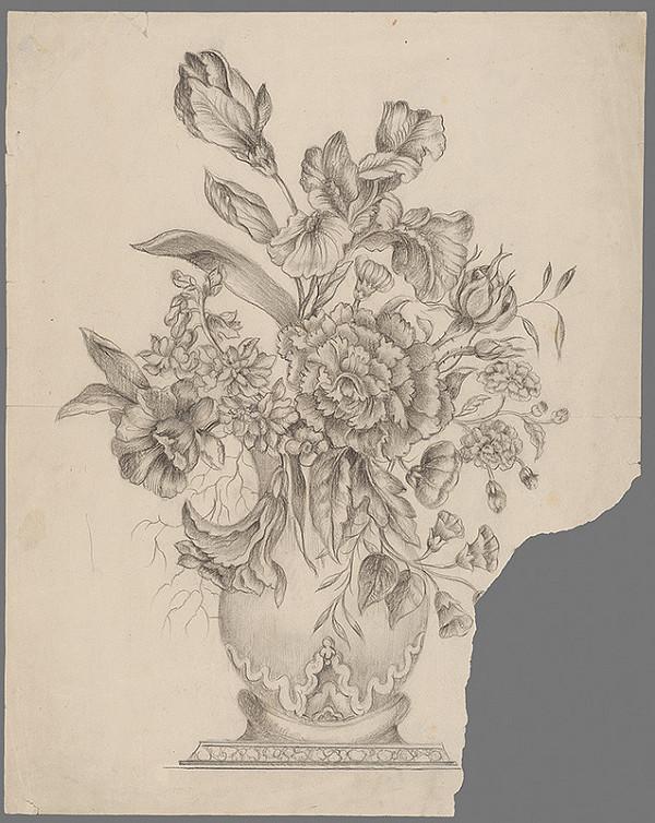 Mathilde Lederer - Zátišie s kvetmi
