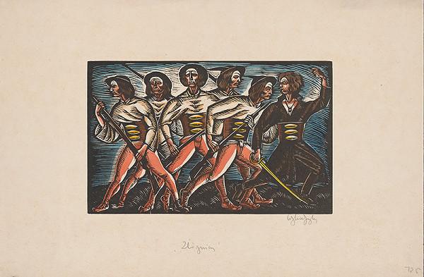 Slovenský grafik z 20. storočia – Zbojníci