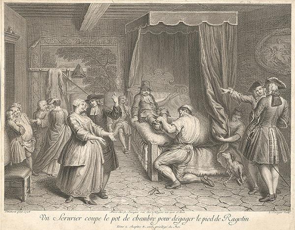 Pierre Louis Surugue, Jacques Dumont - Liečenie nemocného