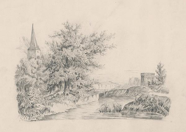 Stredoeurópsky grafik z 19. storočia - Krajina
