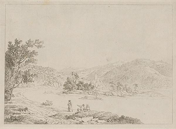 Stredoeurópky grafik z prelomu 18. - 19. storočia – Krajina