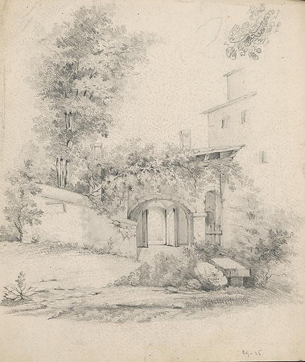 Stredoeurópsky grafik z 19. storočia - Zámok