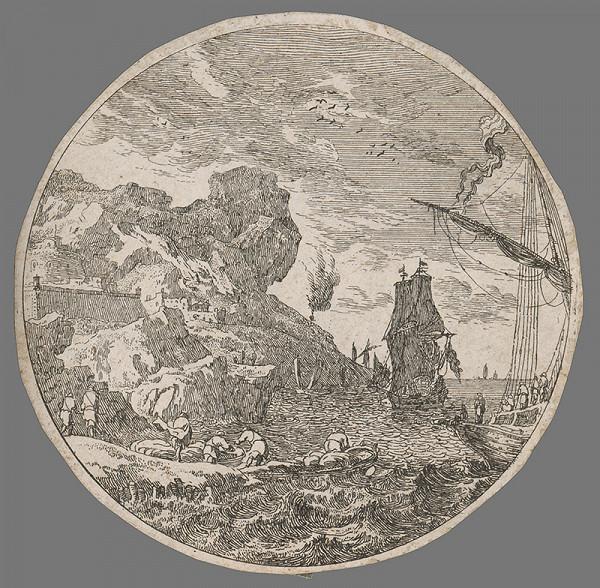 Stredoeurópsky grafik zo 17. storočia – Krajina