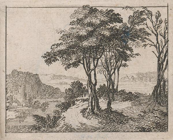 Stredoeurópsky grafik zo 17. storočia - Krajina