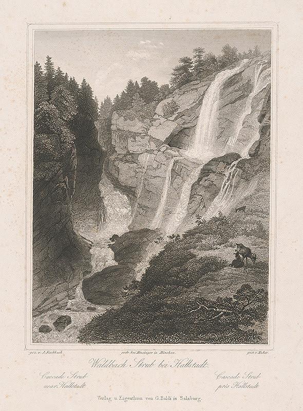 Conrad Huber, Johann Fischbach - Vodopád Waldbach