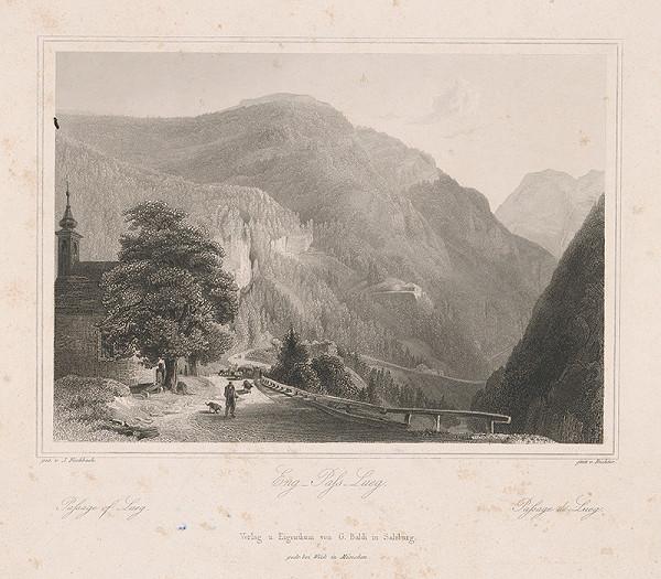 Johann Richter, Johann Fischbach - Úžina Lueg