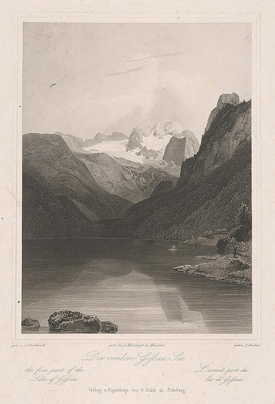 Johann Richter, Johann Fischbach - Jazero Gossau