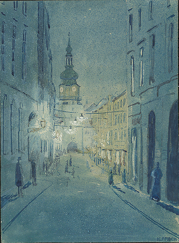 Karol Frech – Bratislava - Michalská veža