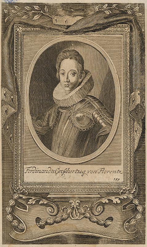 Justus Suttermans - Portrét Ferdinanda II. de´ Medici, veľkovojvodu Toskánska