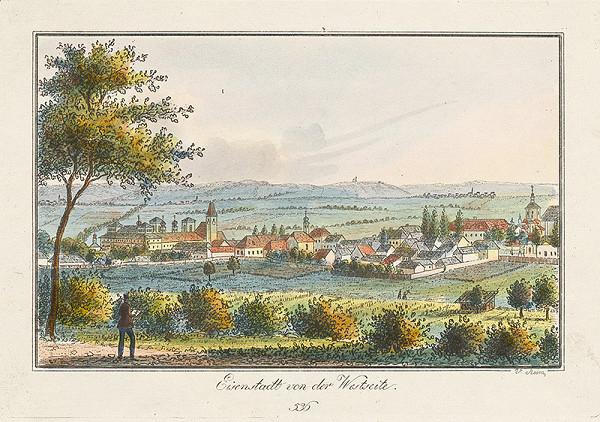 Vincenz Reim – Eisenstadt zo západnej strany
