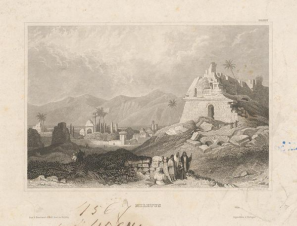 Johann Georg Martini – Zrúcaniny na ostrove Miletos