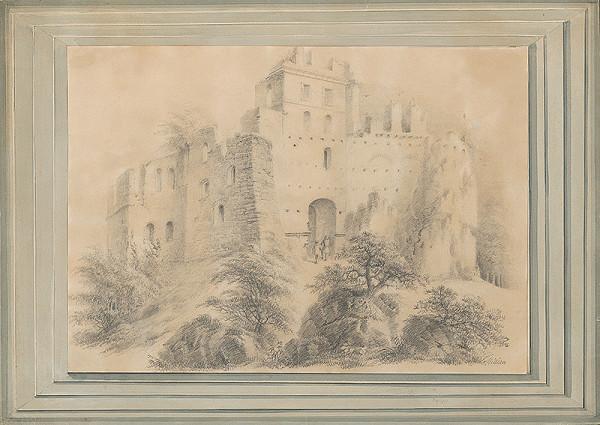 Thaddäus Millian - Zrúcanina hradu Pajštún pri Bratislave