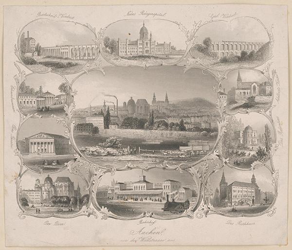 Stredoeurópsky grafik z 19. storočia – Aachen
