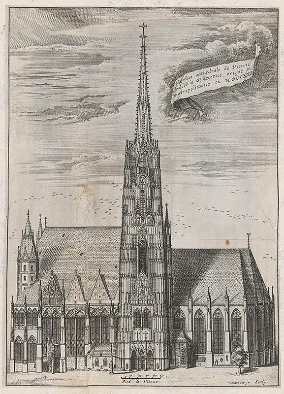 Jacobus Harrewijn - Katedrála Sv. Štefana vo Viedni