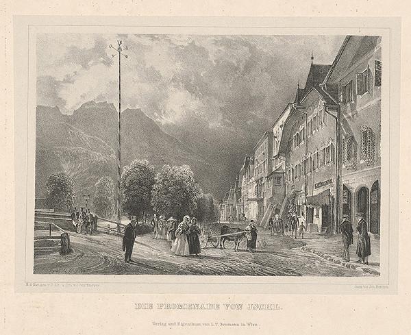 Joseph Gerstmeyer – Promenáda v Ischl