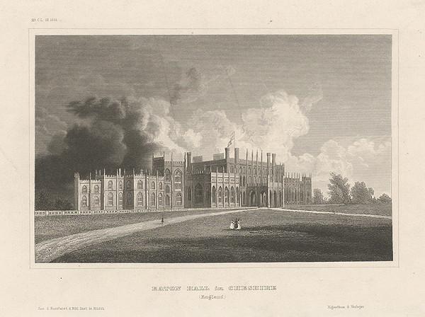 Stredoeurópsky grafik z 19. storočia - Cheshire