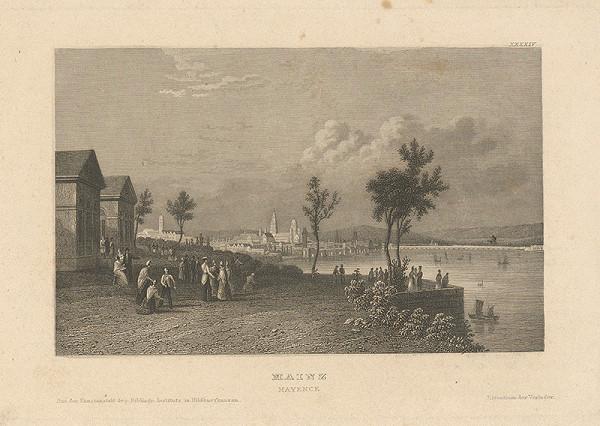 Stredoeurópsky grafik z 19. storočia - Mohuč
