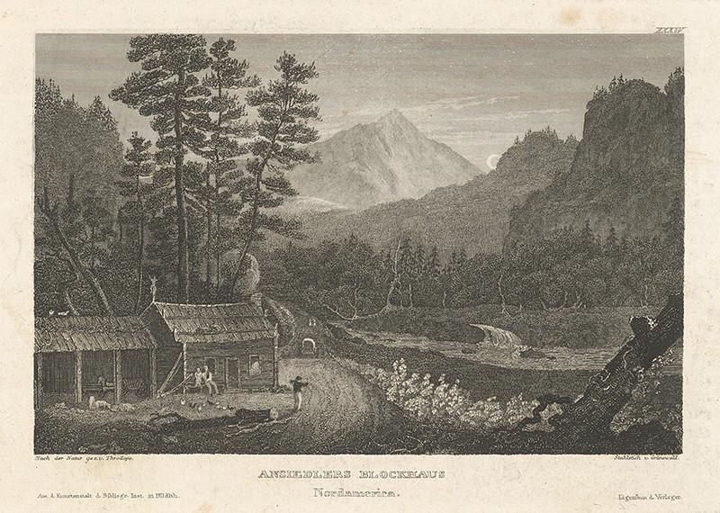 Ernst Friedrich Grünewald – Dom prisťahovalca v severnej Amerike, 1825–1848, Galéria mesta Bratislavy