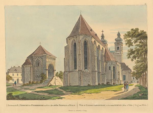 Stredoeurópsky grafik z 19. storočia - Románska kaplnka