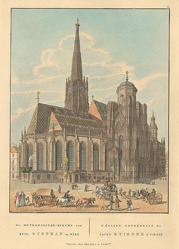 Carl Schütz – Dóm sv.Štefana vo Viedni