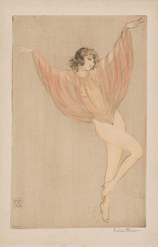 Stredoeurópsky grafik z 20. storočia – Tanečnica