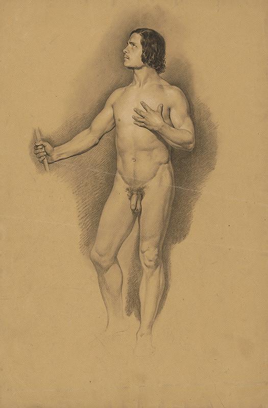 Stredoeurópsky autor z 1. polovice 20. storočia – Mužský akt