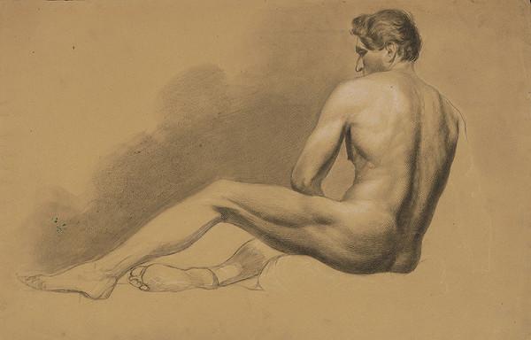 Stredoeurópsky kresliar z 2. polovice 19. storočia - Mužský akt