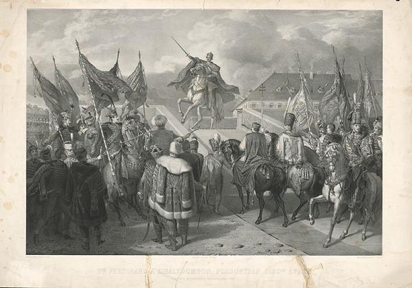 Henrik Weber, Auguste Charpentier – Ferdinand V. na korunovačnom pahorku