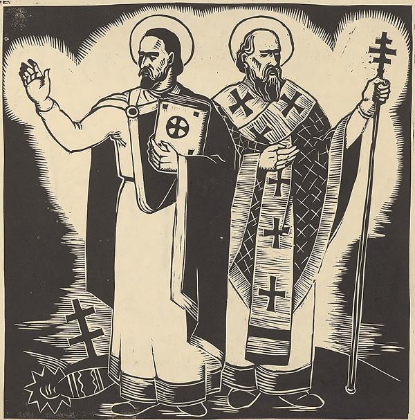 Ján Ladvenica – Cyril a Metod