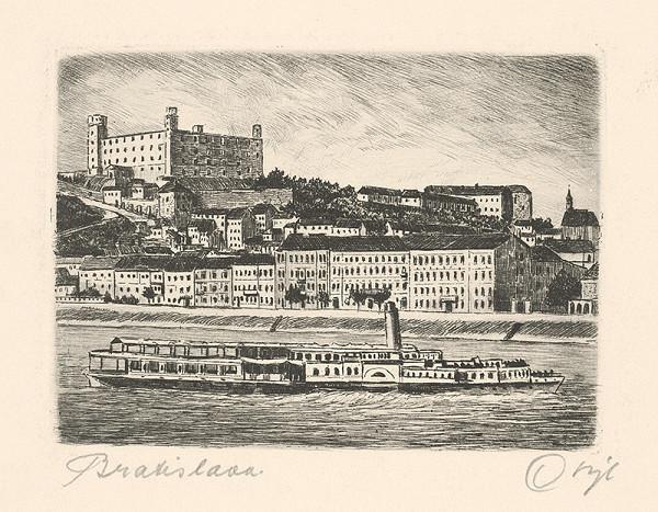 Stredoeurópsky grafik z 1. polovice 20. storočia - Bratislava