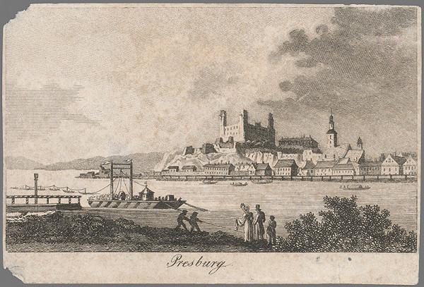 Stredoeurópsky grafik z 1. polovice 19. storočia – Bratislava
