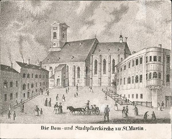 Antal József Strohmayer, Johann Höfelich, C.F. Wigand - Dóm a farský kostol svätého Martina v Bratislave po požiari