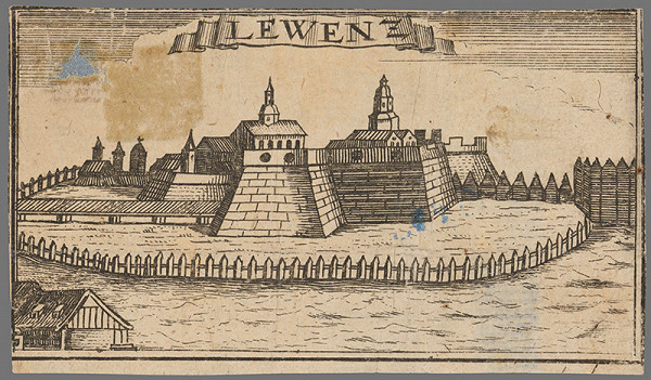 Stredoeurópsky grafik zo 17. storočia – Levice