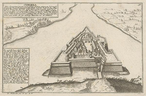 Johann Georg Bodenehr – Pevnosť Komárno