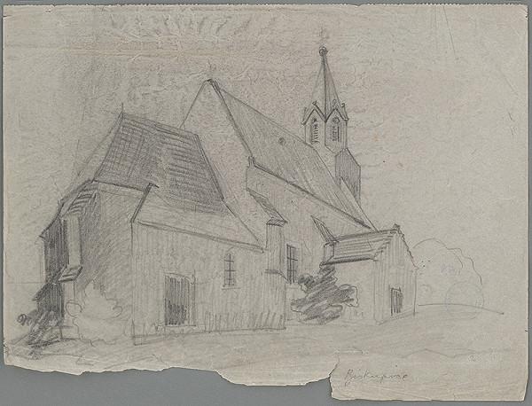 Ján Ladvenica – Kostol v Biskupiciach