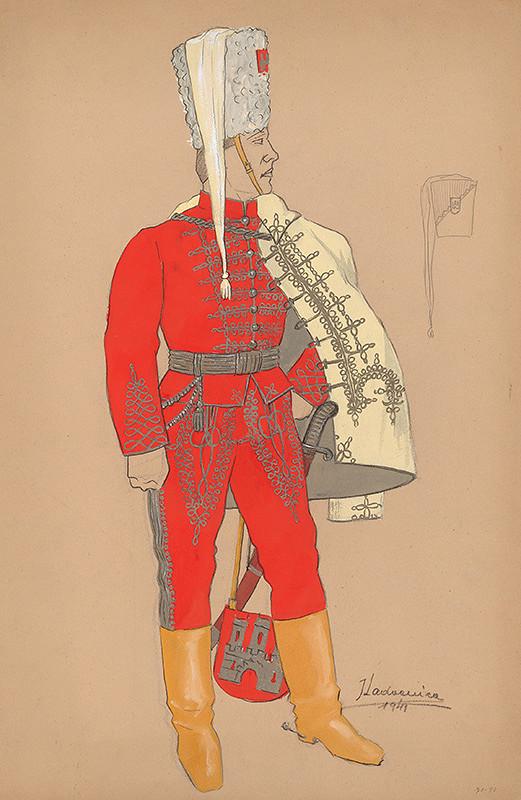 Ján Ladvenica – Člen bratislavskej mestskej gardy